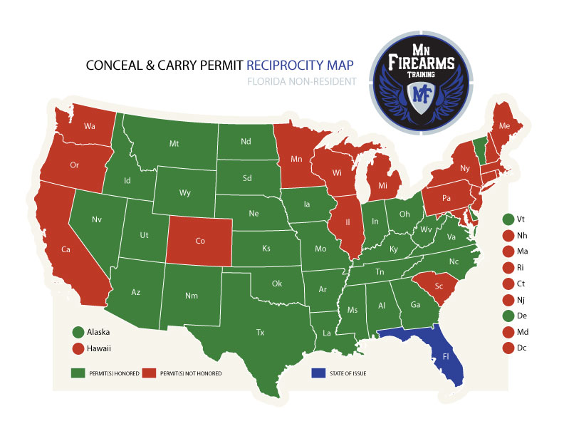 Carry Permit Maps MN Firearms - Mn maps